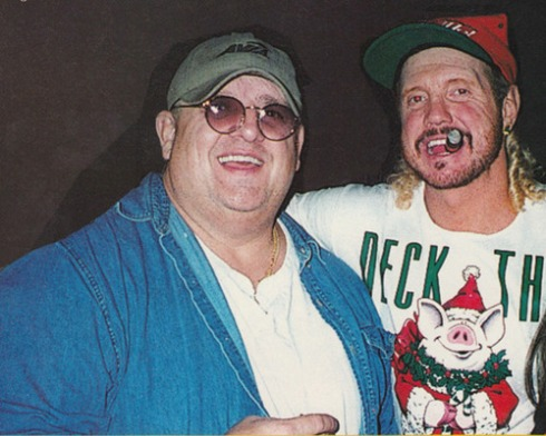 Dusty Rhodes? DDP? Christmas? It's like it was made for Chris Sims.