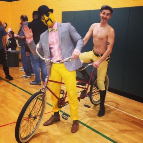 tandem bike!
